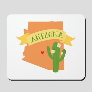 Arizona Cactus Blossom Mousepad