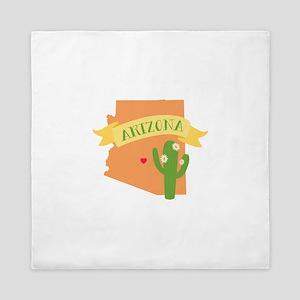 Arizona Cactus Blossom Queen Duvet