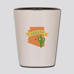 Arizona Cactus Blossom Shot Glass