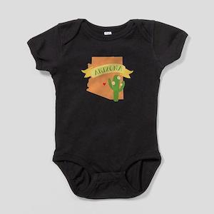 Arizona Cactus Blossom Baby Bodysuit