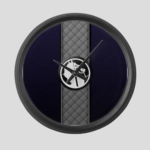Mortal Kombat Logo - Smoke Large Wall Clock