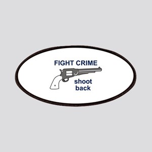 FIGHT CRIME Patches