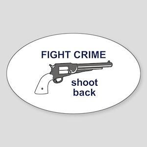 FIGHT CRIME Sticker