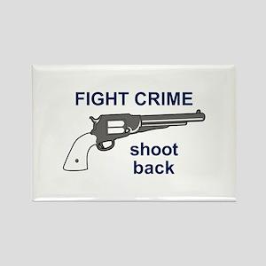FIGHT CRIME Magnets