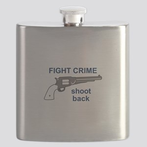 FIGHT CRIME Flask