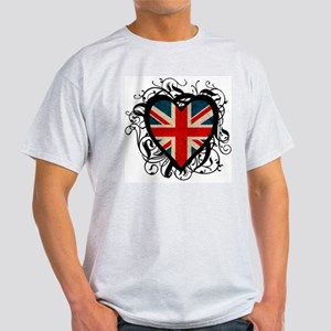 Heart England Light T-Shirt
