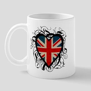 Heart England Mug