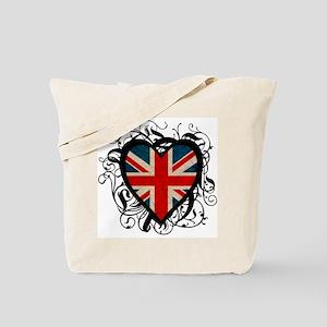 Heart England Tote Bag