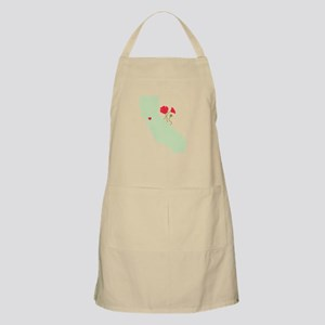 California State Map Apron