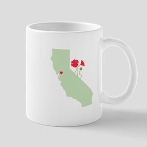 California State Map Mugs