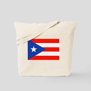Puerto Rican Boricua Flag Bandera Orgullo Tote Bag