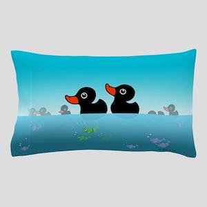 Black Swans Pillow Case
