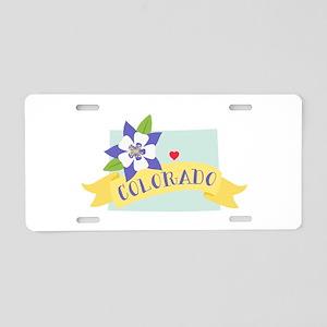 Colorado Rocky Mountain Aluminum License Plate