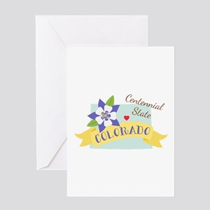 Colorado Centennial Greeting Cards