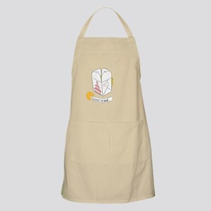 """Chinese Takeout - Fortune Cookie """"(cont) in  Apron"""