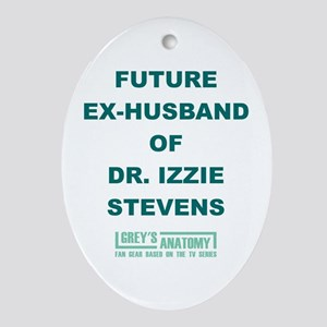 FUTURE EX-HUSBAND Ornament (Oval)