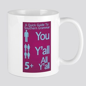 Southern Grammar: Y'all Mugs