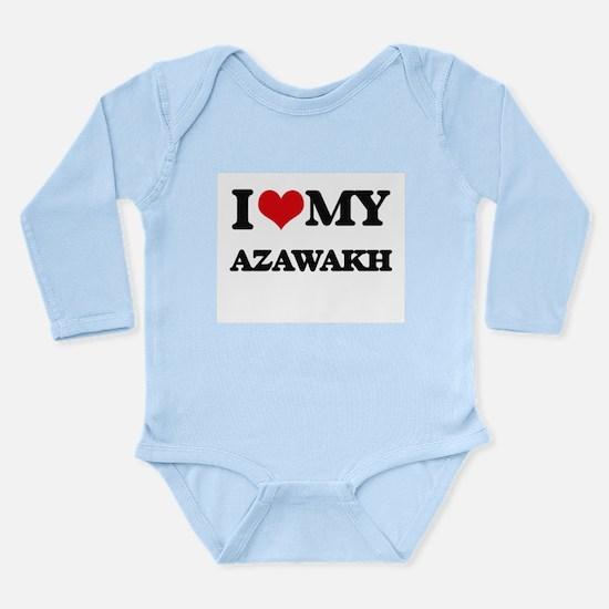I love my Azawakh Body Suit