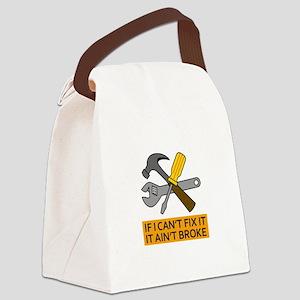 IT AINT BROKE Canvas Lunch Bag