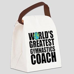 World's Greatest Gymnastics Coach Canvas Lunch