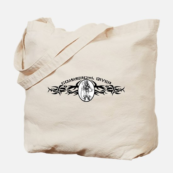 Funny Commercial diving Tote Bag