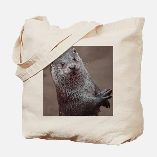 Sweet young Otter Tote Bag