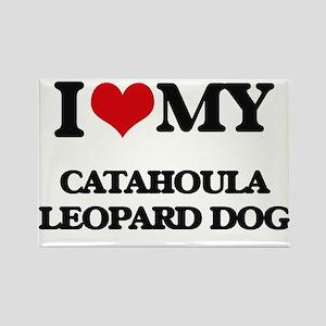 I love my Catahoula Leopard Dog Magnets
