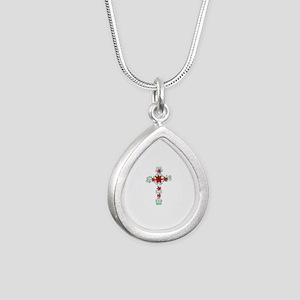 FLORAL CROSS Necklaces