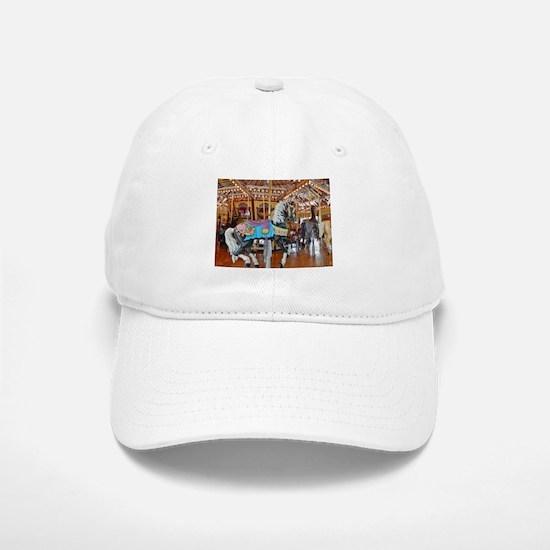 """CAROUSEL HORSE 4"" Baseball Baseball Baseball Cap"