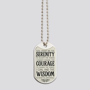 Serenity Prayer Dog Tags