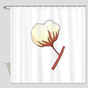 COTTON BOLL Shower Curtain