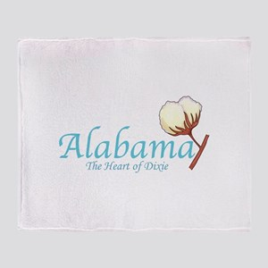 ALABAMA Throw Blanket