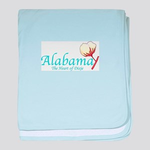 ALABAMA baby blanket