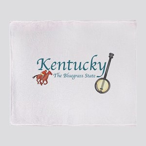 KENTUCKY Throw Blanket