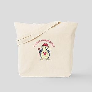 I Love Christmas! Tote Bag