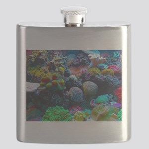Beautiful Coral Reef Flask