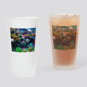 Beautiful Coral Reef Drinking Glass