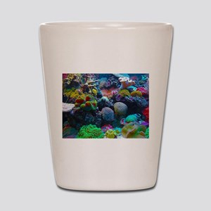 Beautiful Coral Reef Shot Glass