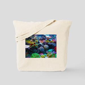 Beautiful Coral Reef Tote Bag