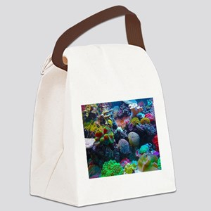 Beautiful Coral Reef Canvas Lunch Bag