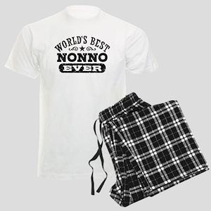 World's Best Nonno Ever Men's Light Pajamas