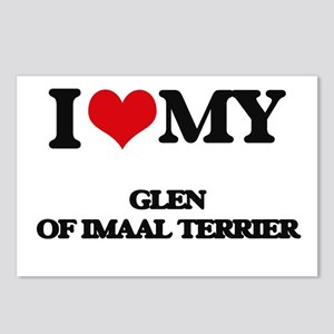 I love my Glen Of Imaal T Postcards (Package of 8)