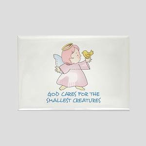 GOD CARES Magnets
