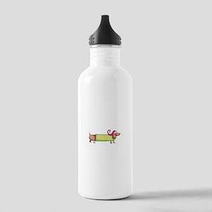HOLIDAY DACHSHUND Water Bottle