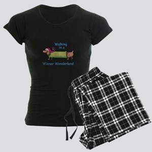 WIENER WONDERLAND Pajamas