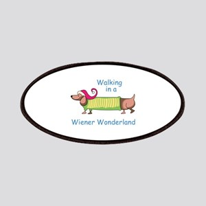 WIENER WONDERLAND Patches