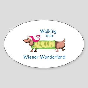 WIENER WONDERLAND Sticker