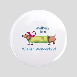 """WIENER WONDERLAND 3.5"""" Button"""