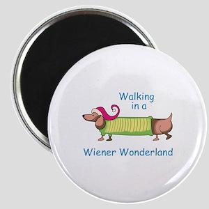WIENER WONDERLAND Magnets