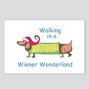 WIENER WONDERLAND Postcards (Package of 8)